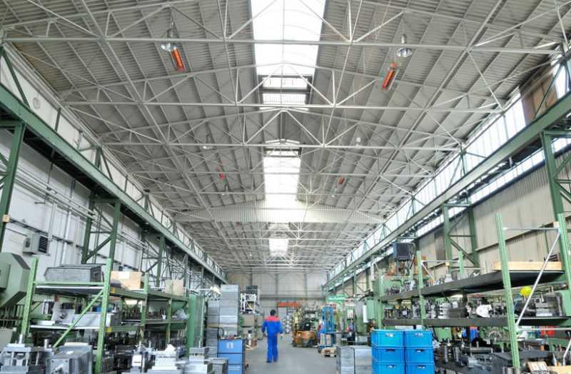 Системы отопления и котлы для обогрева промышленных зданий