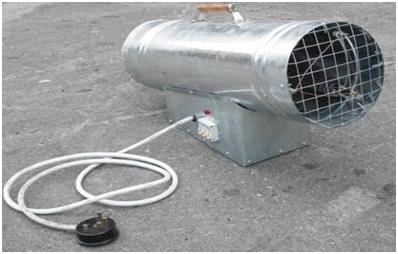 Тепловая газовая пушка своими руками: пошаговая инструкция по сборке
