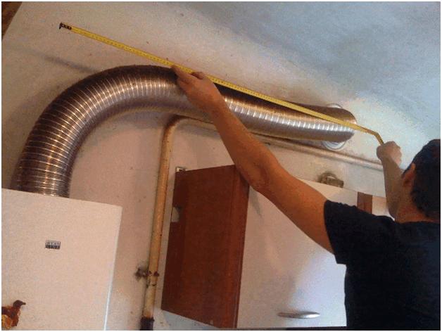 Диаметр труб дымохода колонки узел прохода дымохода через крышу