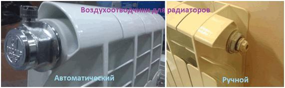 Как согнать воздух из системы отопления