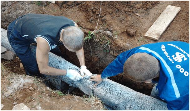 Как быстро отогреть и утеплить закопанные в земле трубы