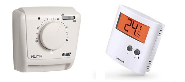Основные разновидности регуляторов температуры для обогревателей