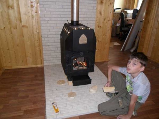 Монтаж печи в бане - Строим баню или сауну