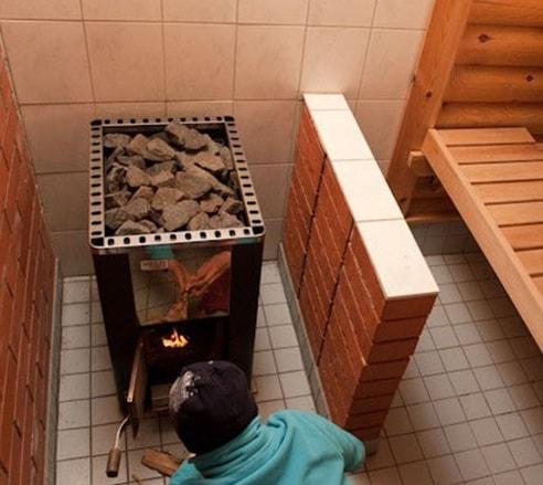 Изоляция трубы в бане своими руками