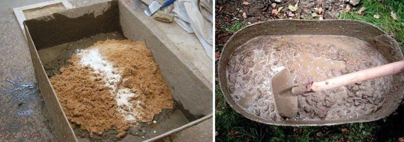 Как приготовить глиняный раствор для кладки печи
