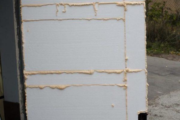 Утепление деревянного дома снаружи пенопластом своими руками