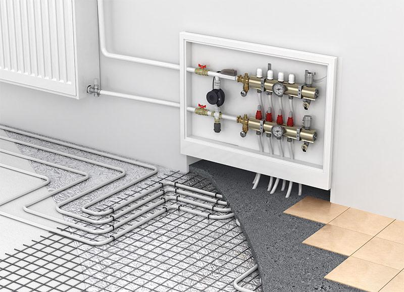 Пример устройства пола в каркасной бане эковата система кабельного теплого пола