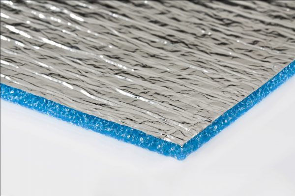 Как приклеить фольгированный утеплитель к бетону
