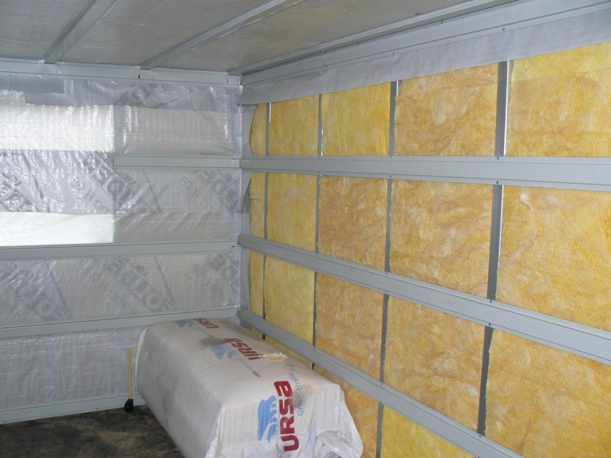 Как и чем утеплить стены гаража самостоятельно