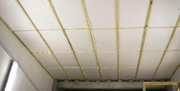 Как утеплить потолок в гараже своими руками