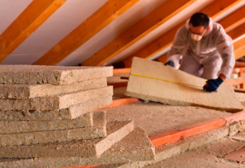Как использовать каменную вату для теплоизоляции
