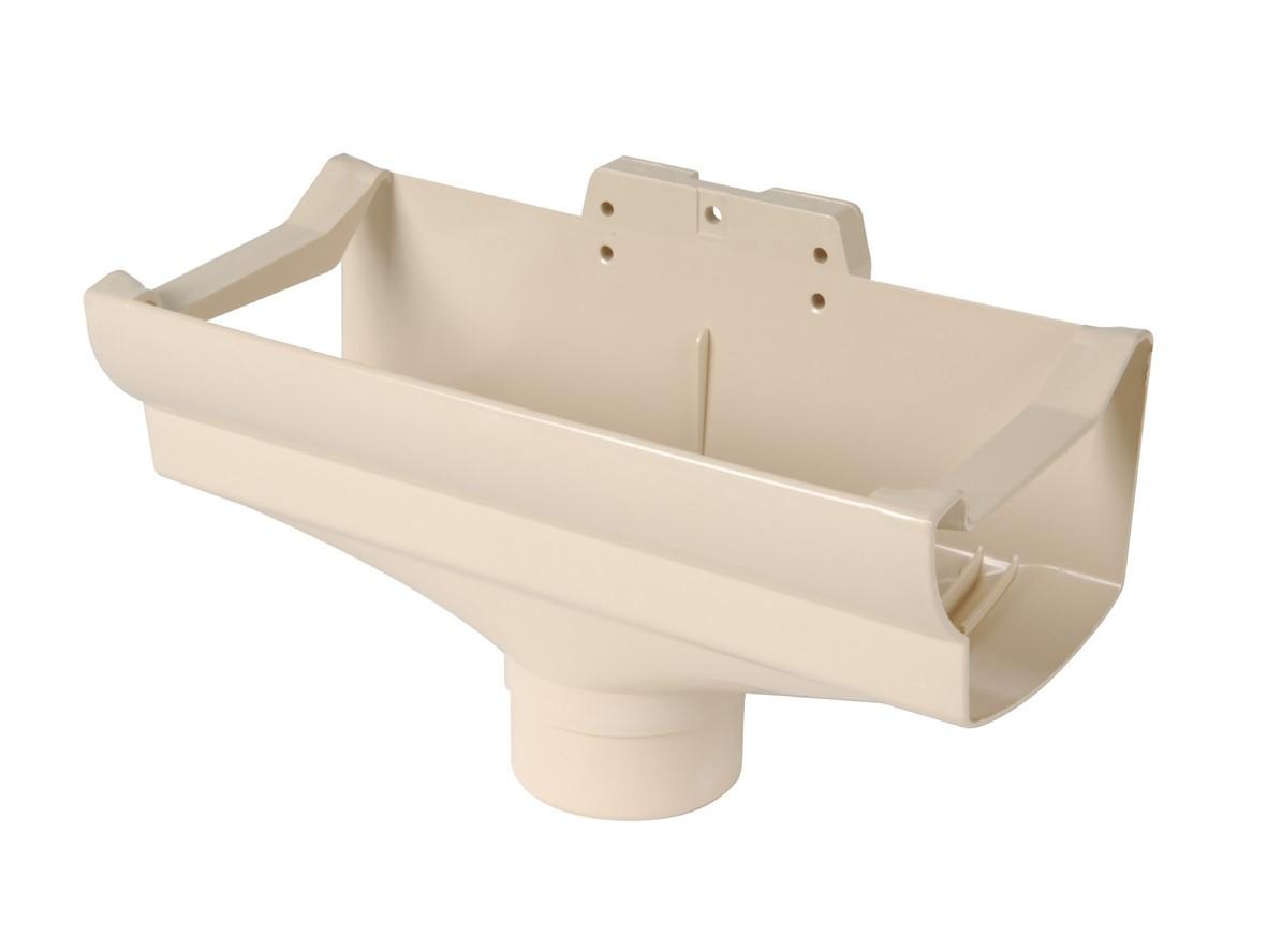 Как крепить трубу водостока к стене