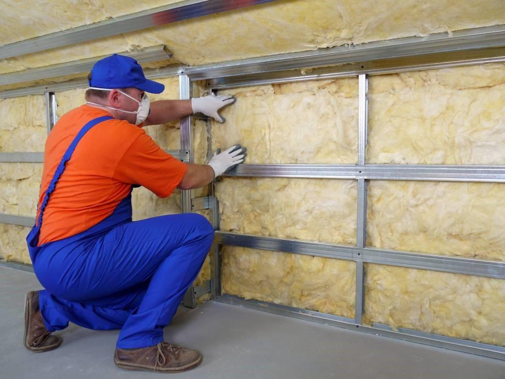 Минеральная вата для утепления стен: размер, толщина