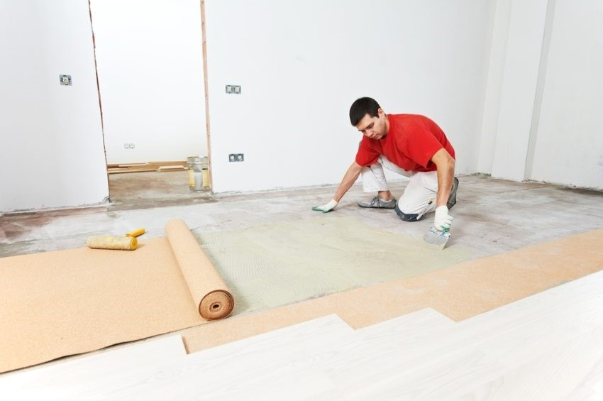 подложка для линолеума на бетонный пол