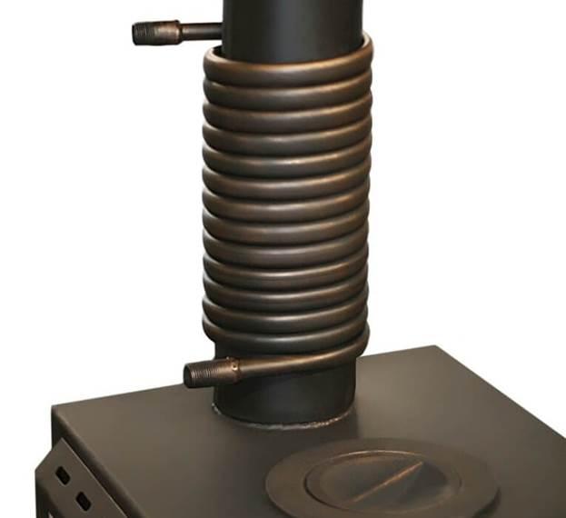 Теплообменник на дымоход своими руками воздушное устройство