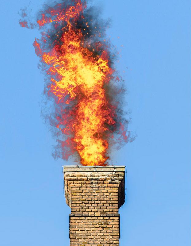Как почистить дымоход от сажи в домашних условиях